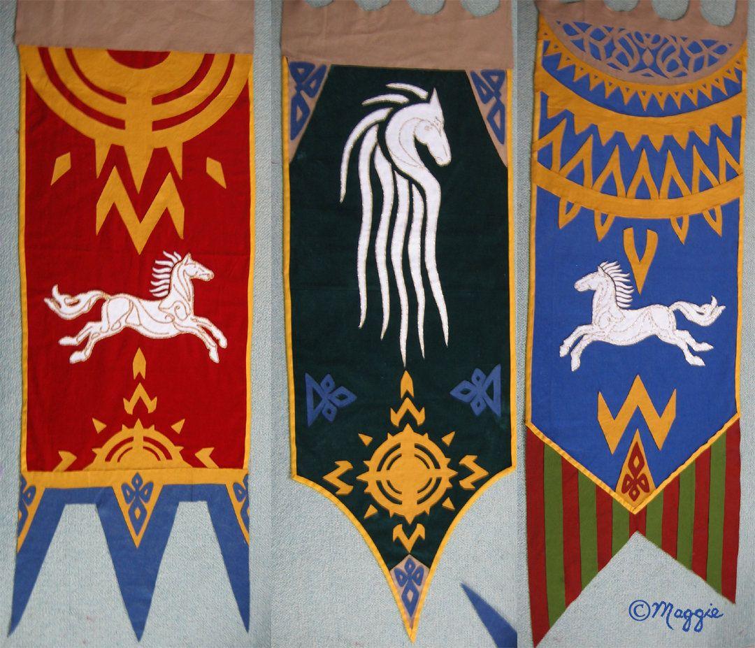 Rohan Banners Banner Flag Design Word Art