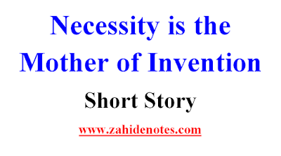 Here I The Story Of A Thirsty Crow With Moral Lesson Necessity Mother Invention Thi An Amazing First Year Student Inventions Essay On