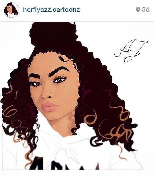 Pin By Mariam Ayo On Melanin Magic Curly Hair Cartoon Natural Hair Art Pop Art Girl