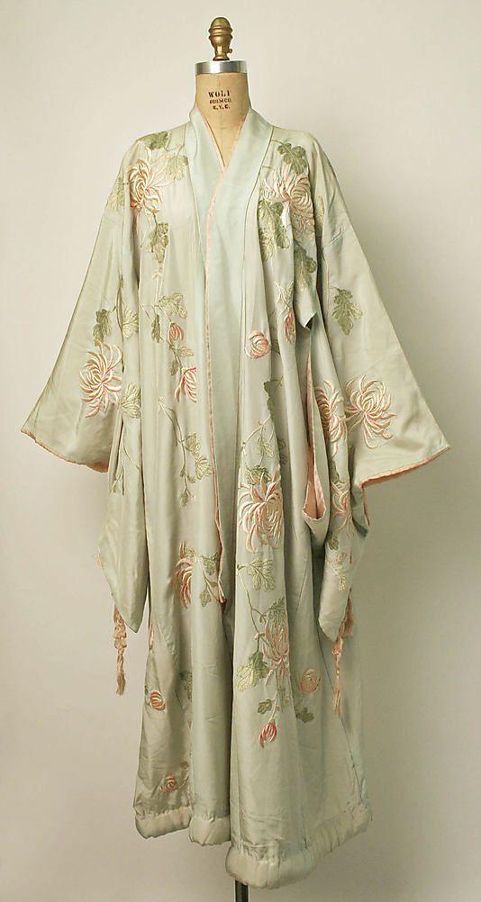 Vintage Silk Kimono. 1910  73ca75aae