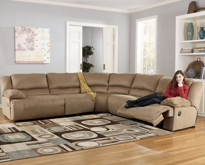 ashley furniture sectional sofas with recliners remodel living rh pinterest com