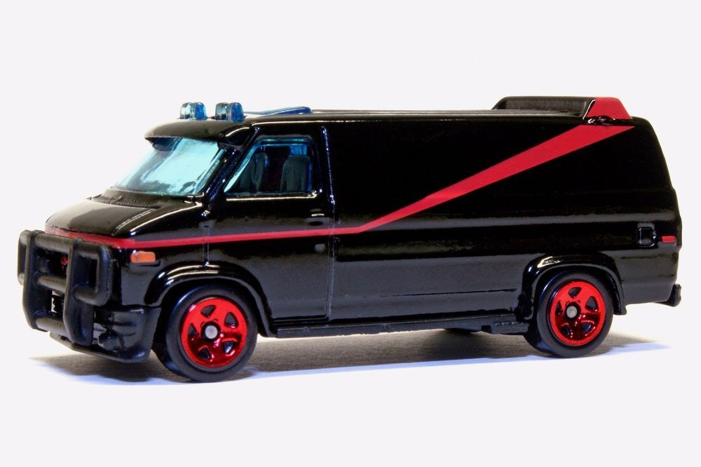 The A-Team Van 1:64 Modell