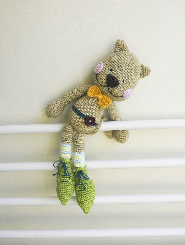 Bootıecat pattern cute amigurumi crochet cat pattern on ravelry ...