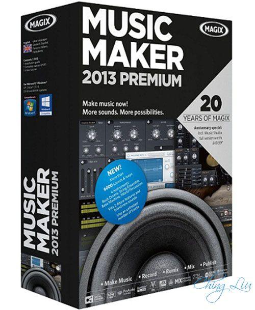 magix music maker 2013 premium free download