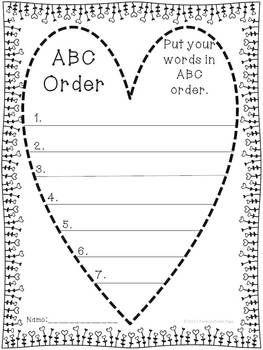 Order writing paper