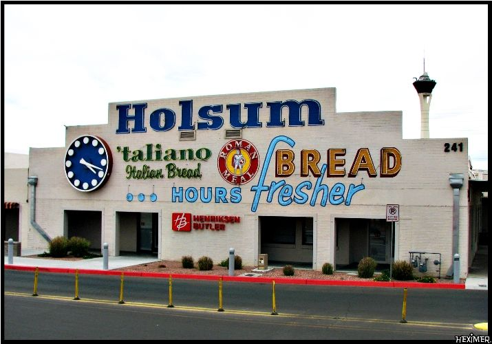 You Knew You Were Close To The Holsum Bread Company On Charleston