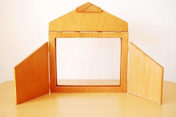 Artebambini kamishibai ~ El kamishibai o pequeño teatro de papel es una herramienta de