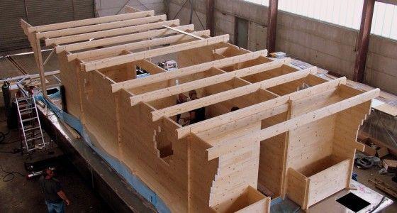 pin von holzbau dr jeschke blockhaus 24 auf hausboot pinterest boat outdoor living und haus. Black Bedroom Furniture Sets. Home Design Ideas