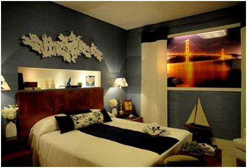 How To Decorate Bedrooms Without Window Guest Bed Bedroom Decor