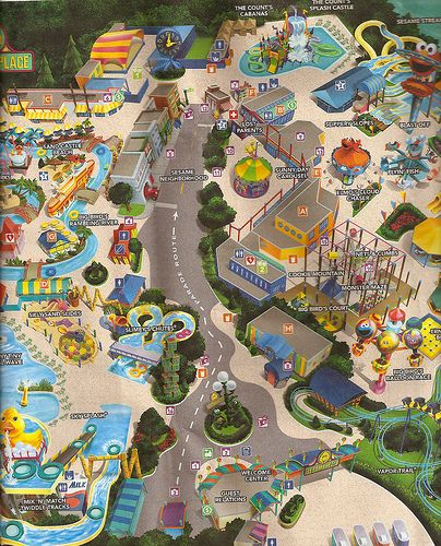 sesame place sbook - Google Search-the kids used to love ... on michigan's adventure map, busch gardens map, legoland map, canobie lake park map, idlewild and soak zone map, six flags map, hersheypark map, kings island map, disneyland map, knoebels map, knott's berry farm map, carowinds map, king of prussia mall map, adventure island map, aquatica map, discovery cove map, kings dominion map, dorney park map, cedar point map, peddler's village map,