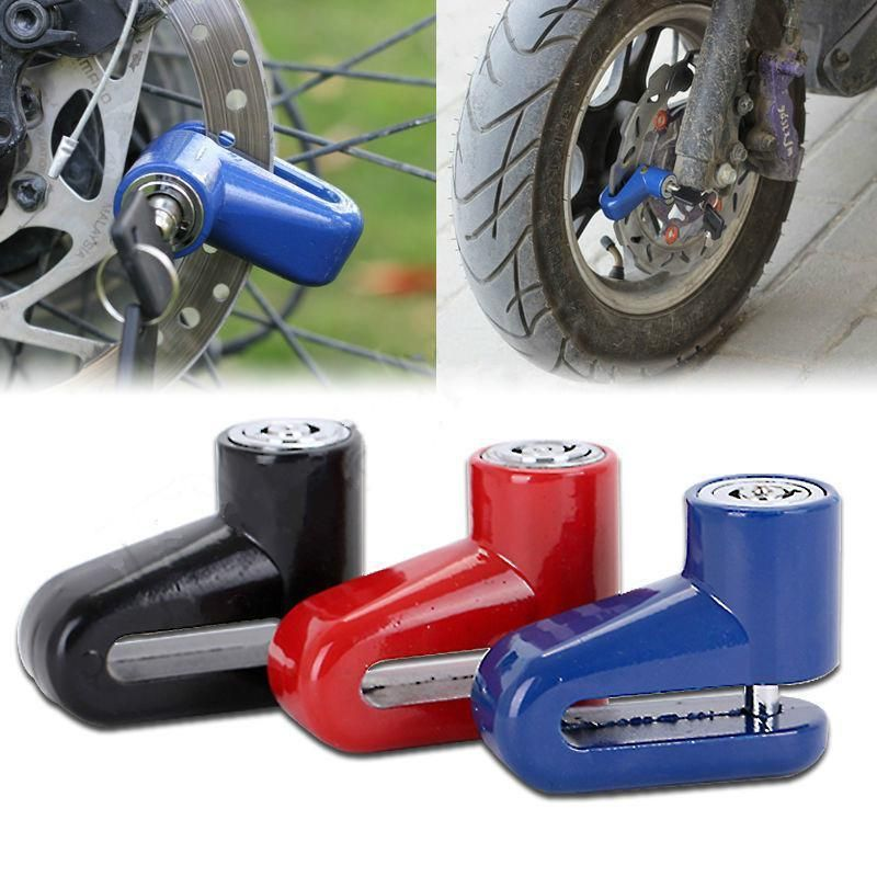 3 94 Aud Motorcycle Bike Anti Theft Security Disc Disk Lock 2