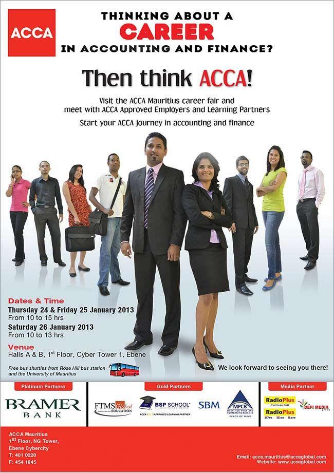 acca mauritius career fair info 401 0220 job offers training