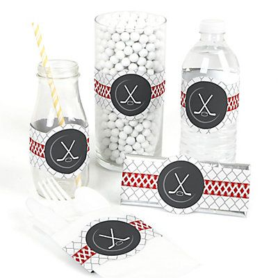 Shoots scores hockey do it yourself baby shower wrappers 15 make your party pop with do it yourself party wrappers hockey diy party wrapper 15 ct favor wraps are a versatile party supply that will help you solutioingenieria Gallery