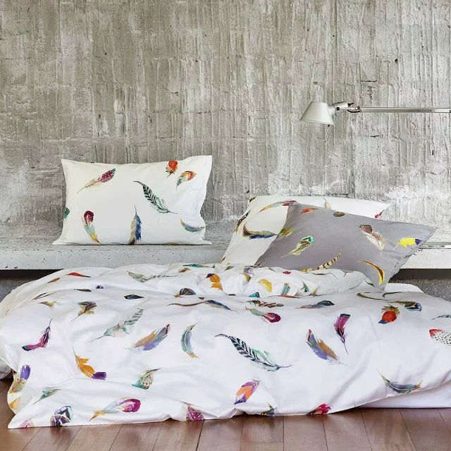 egyptian cotton bedding sets sheets feather duvet cover print bed