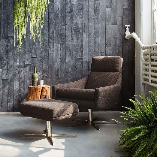 Excellent Austin Swivel Armchair Charlton Swivel Armchair Ottoman Theyellowbook Wood Chair Design Ideas Theyellowbookinfo