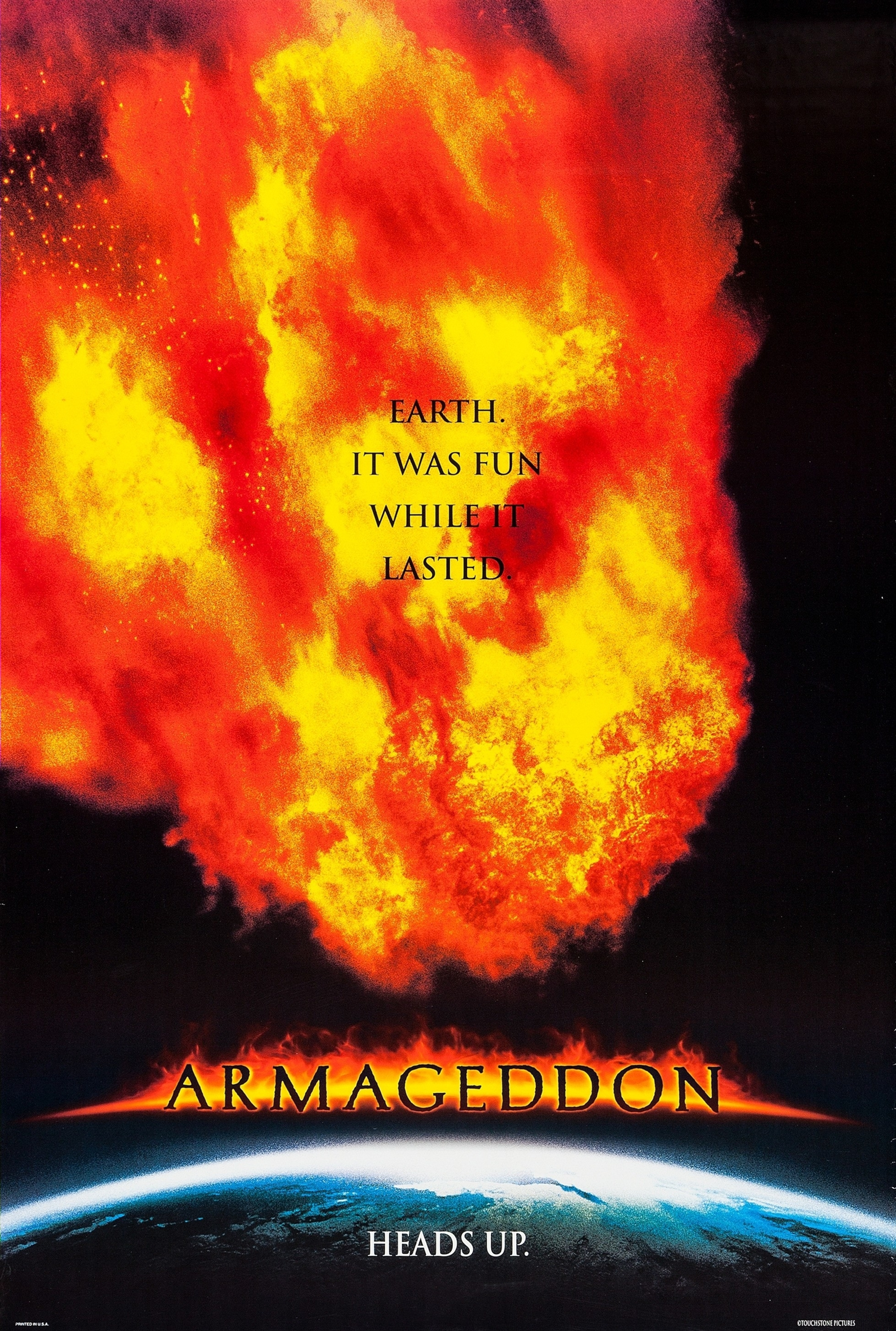 Armageddon 1998 2957 4392 With Images Armageddon Movie