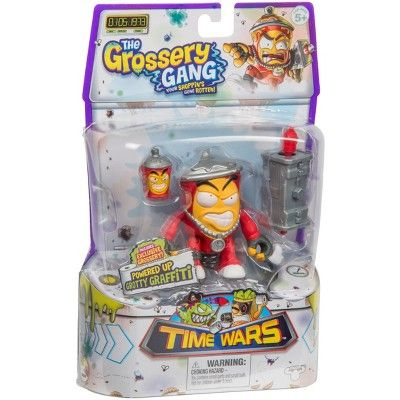 Grotty Graffiti The Grossery Gang Time Wars Action Figure
