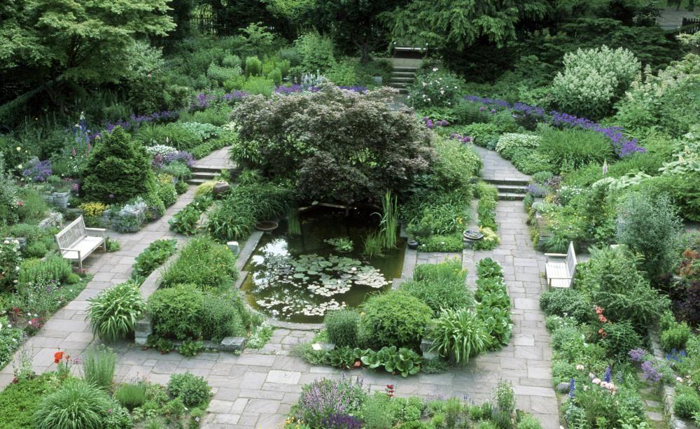 Einen Senkgarten Anlegen Garten Beruhmte Garten Garten Pflanzen