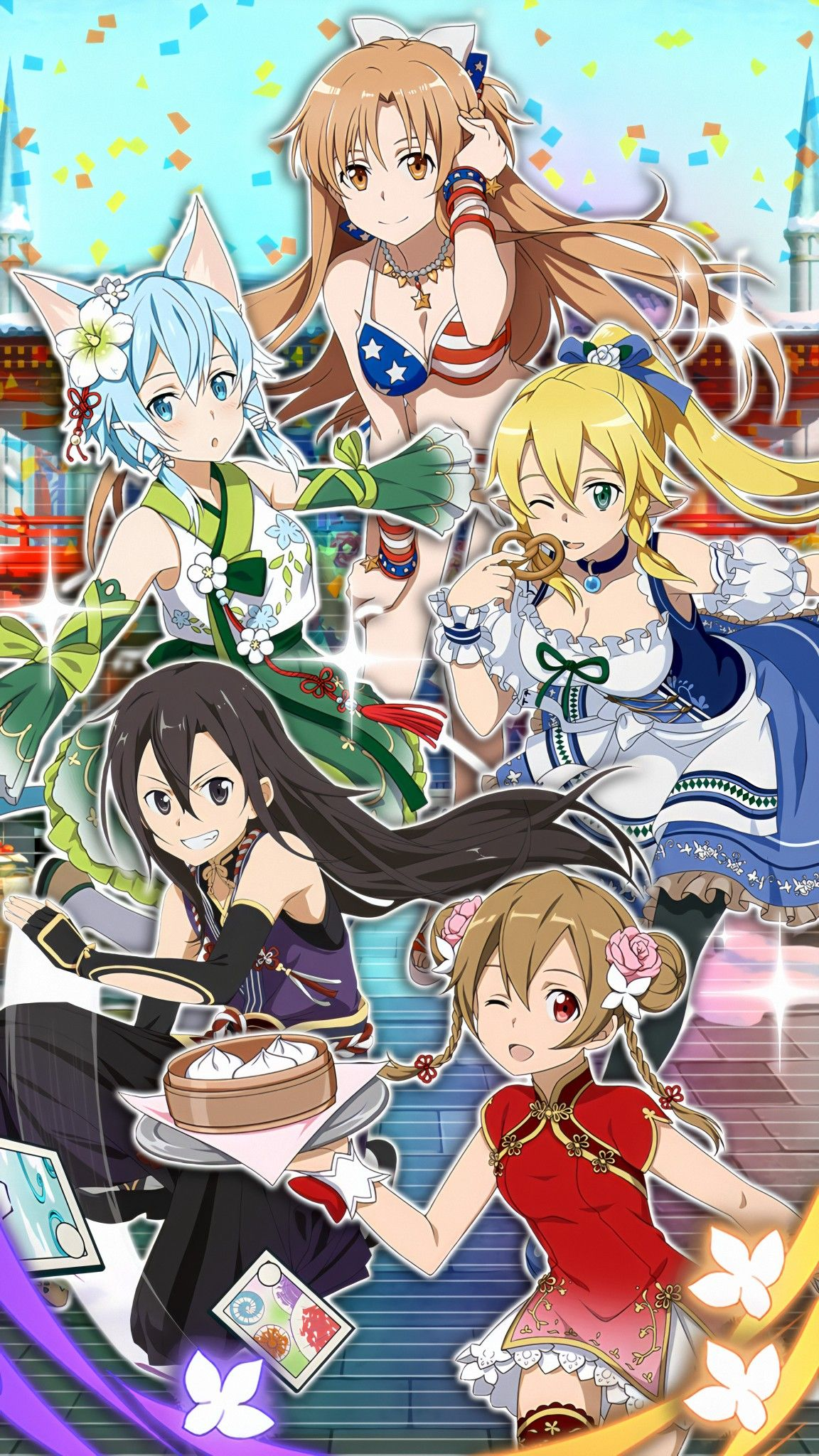 Pin by emmie ho on Nghệ thuật anime in 2020 Sword art