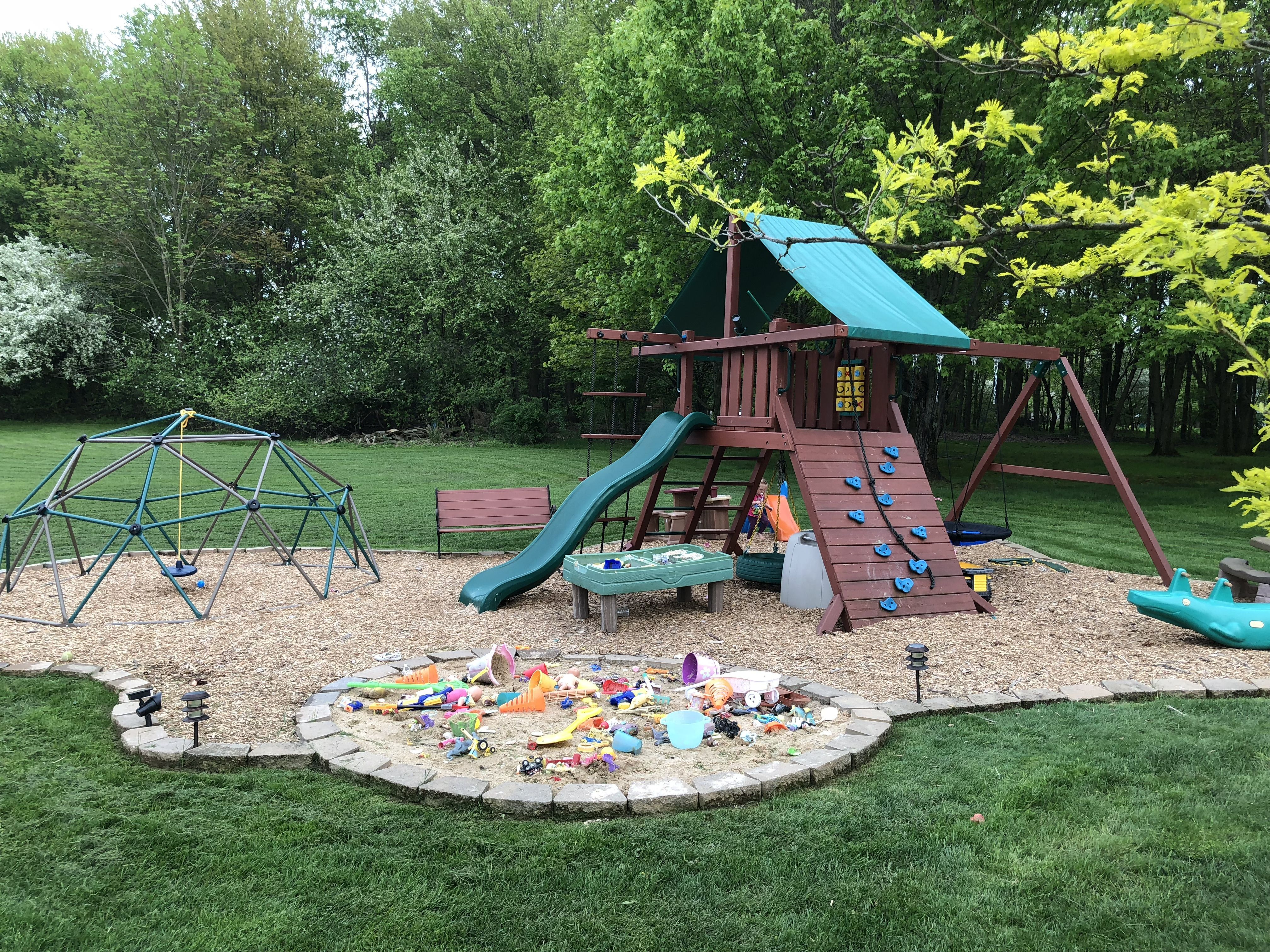 Formidable Backyard Playground Ideas For Toddlers ...