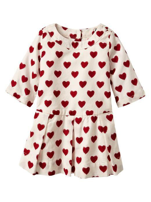 e3e0357dd6a0 heart little girl s dress