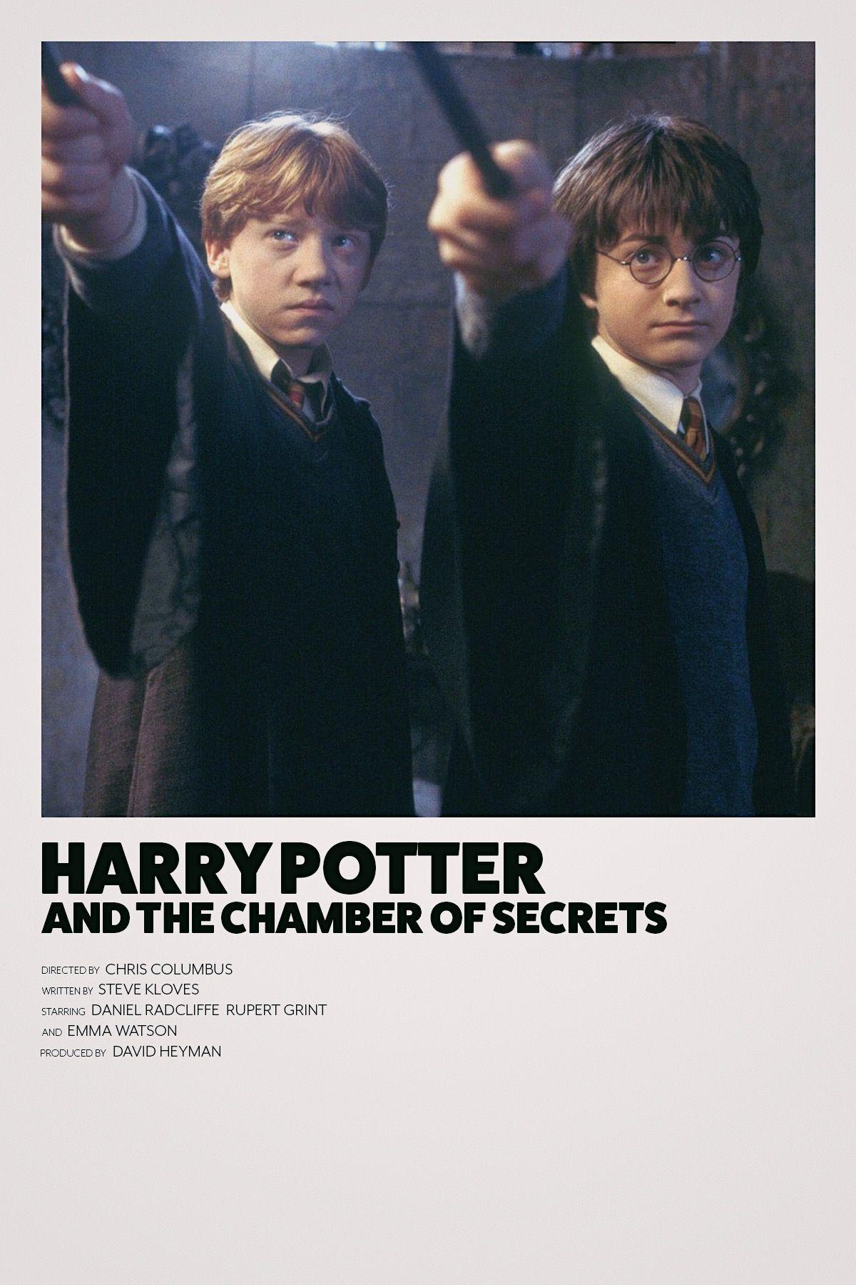 Chamber Of Secrets Minimalist Movie Poster Harry Potter Movie Posters Iconic Movie Posters Film Posters Minimalist