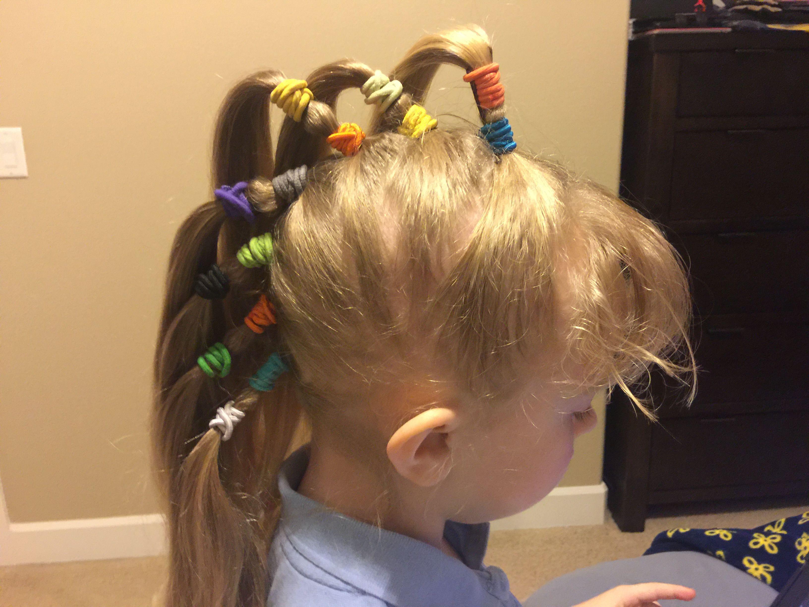 crazy hair day school- 1st grade