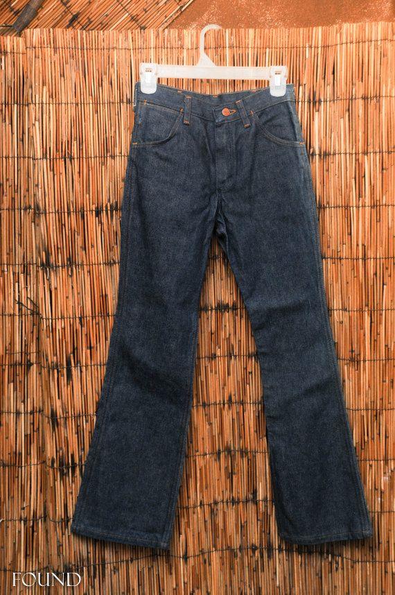 Vintage Bootcut Dark Wash Jeans by Wrangler by FOUNDbymisse, $22.00 #vintage #denim