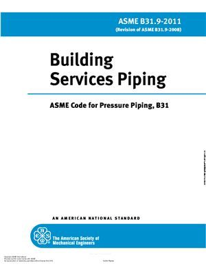 Asme B31 9 Building Services Piping Little Peng Welding Rods