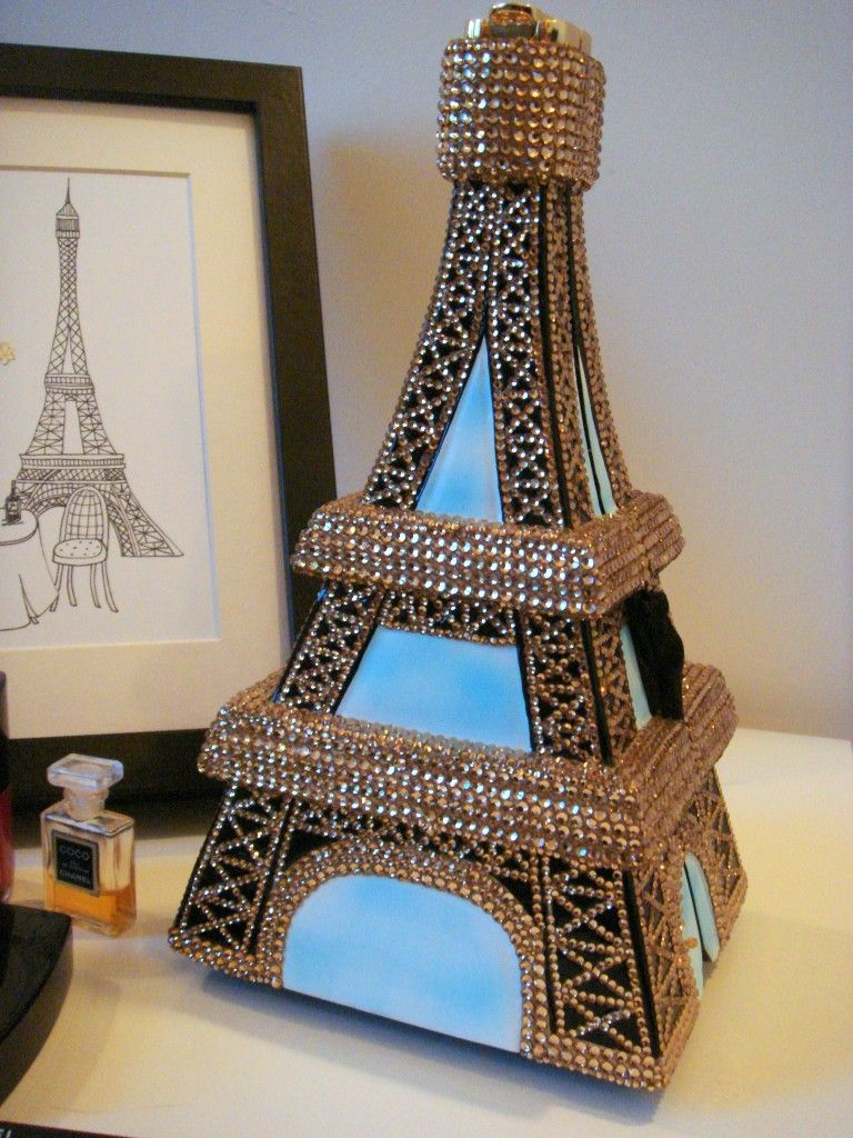 Timmy Woods Eiffel Tower Handbag