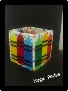 pot crayon multicolor mes cr ations magic 39 perles. Black Bedroom Furniture Sets. Home Design Ideas