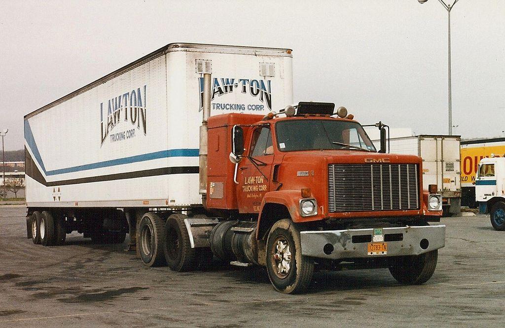 Gmc Brigadier Sleeper Law Ton Tkg Trucks Semi Trucks Mercedes Truck
