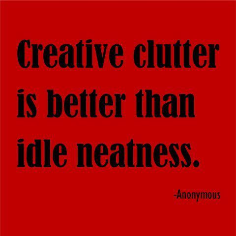 Rejoicing in the Clutter   The Weekly Polymer Arts Blog