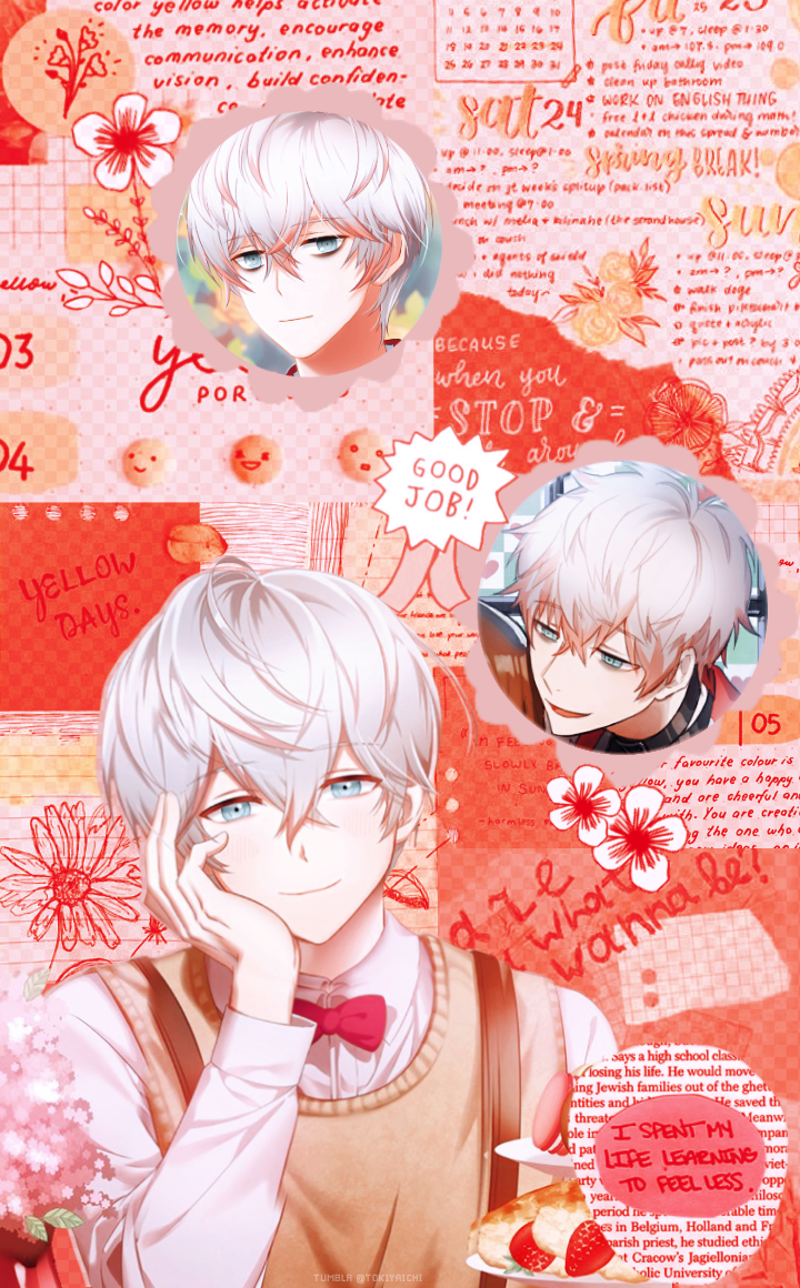 saeran wallpaper / lockscreen [mystic messenger]
