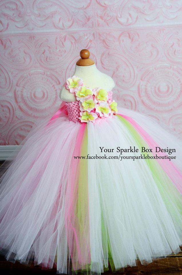 403a1ab0c Spring Fling Tutu Dress by YourSparkleBox   Tutu's   Dresses, Flower ...