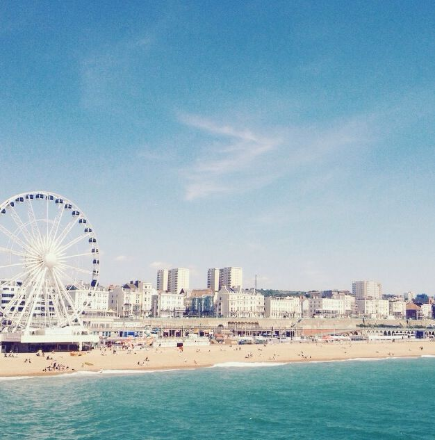A Day at the Races- Brighton Seafront.