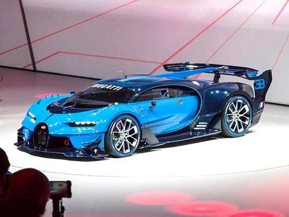 Bugatti Vision Gran Turismo Concept revealed - Kelley Blue Book