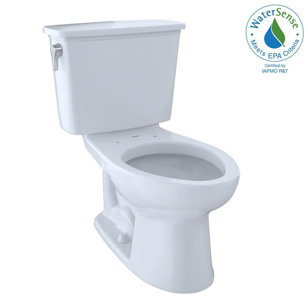 Toto Eco Drake Transitional 2 Piece 1 28 Gpf Single Flush