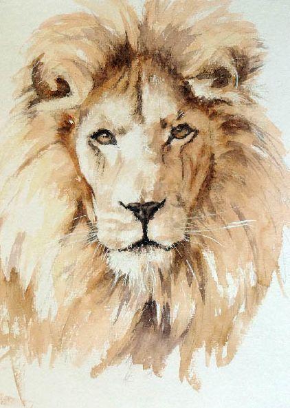 Foxyflowerchild Lowe Von Geoff Dawson Aquarellmalerei