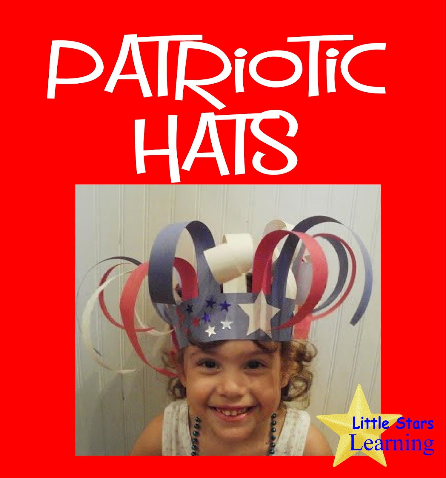 Patriotic Preschool Hats