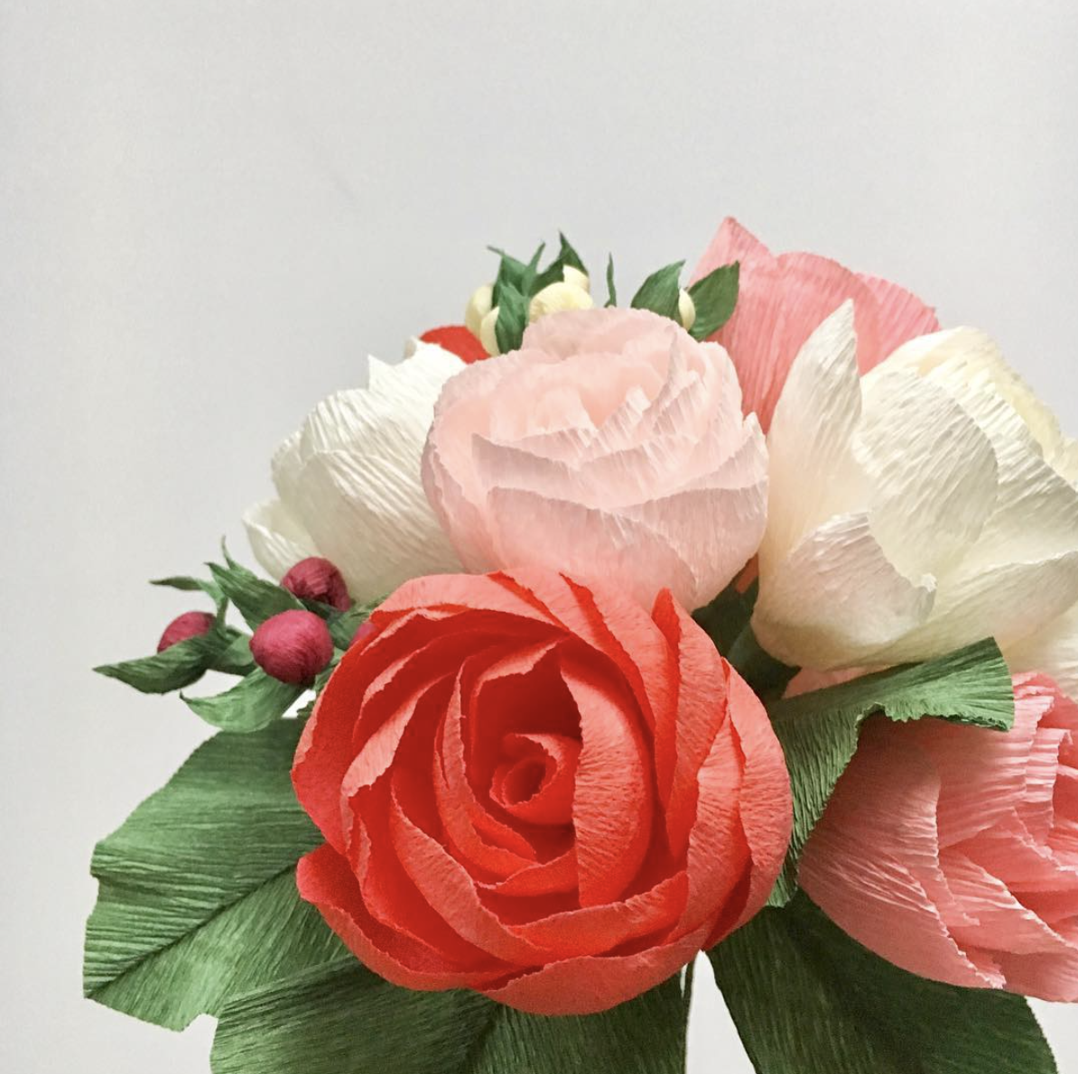Paper flower nycpaper flowers by little paper flowers nyc 2 best anniversary paper flower bouquet by little paper flowers nyc www anniversary paper flower bouquet by little mightylinksfo