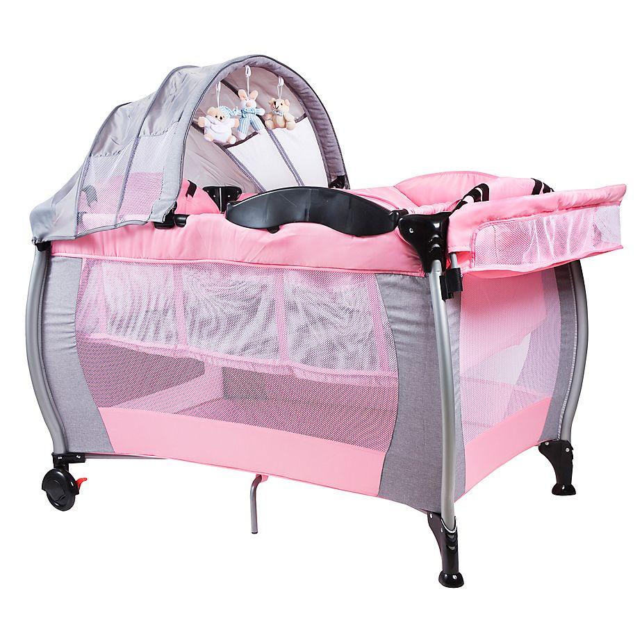9f6523fa0 Infanti Cuna Corral JBP703 Night Pink | Milah Tylese | Bedroom decor ...