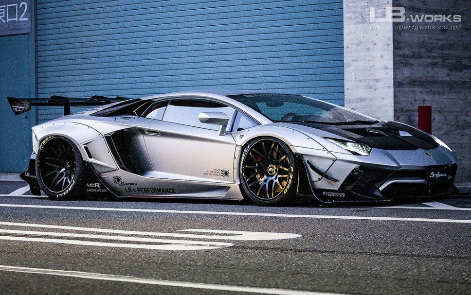 Lamborghini Aventador Limited Liberty Walk 4 Vehicles Cars