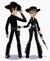 Woody and Jessie by *lily-fox on deviantART