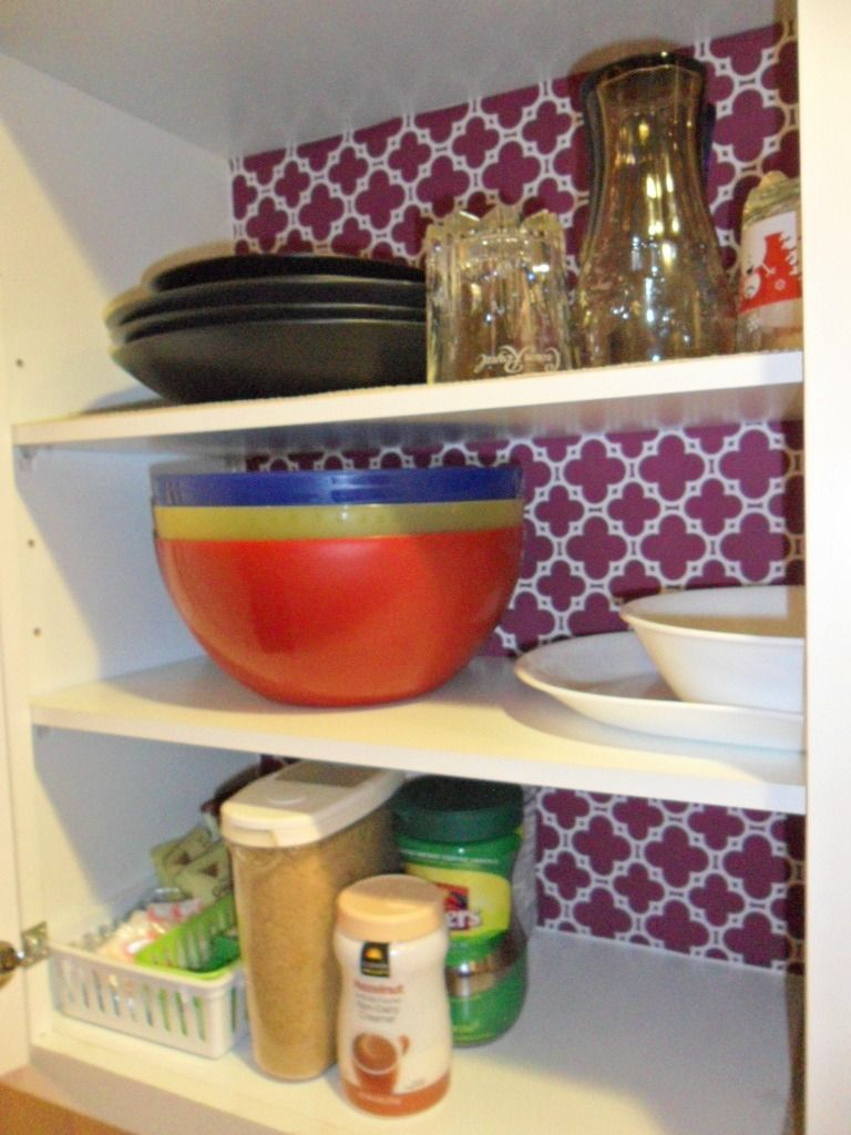 Home For 4 Sweet Home: {Kitchen Organizing} For Dinner Plates, Side Plates, Bowls, Drinking Glasses & Cups