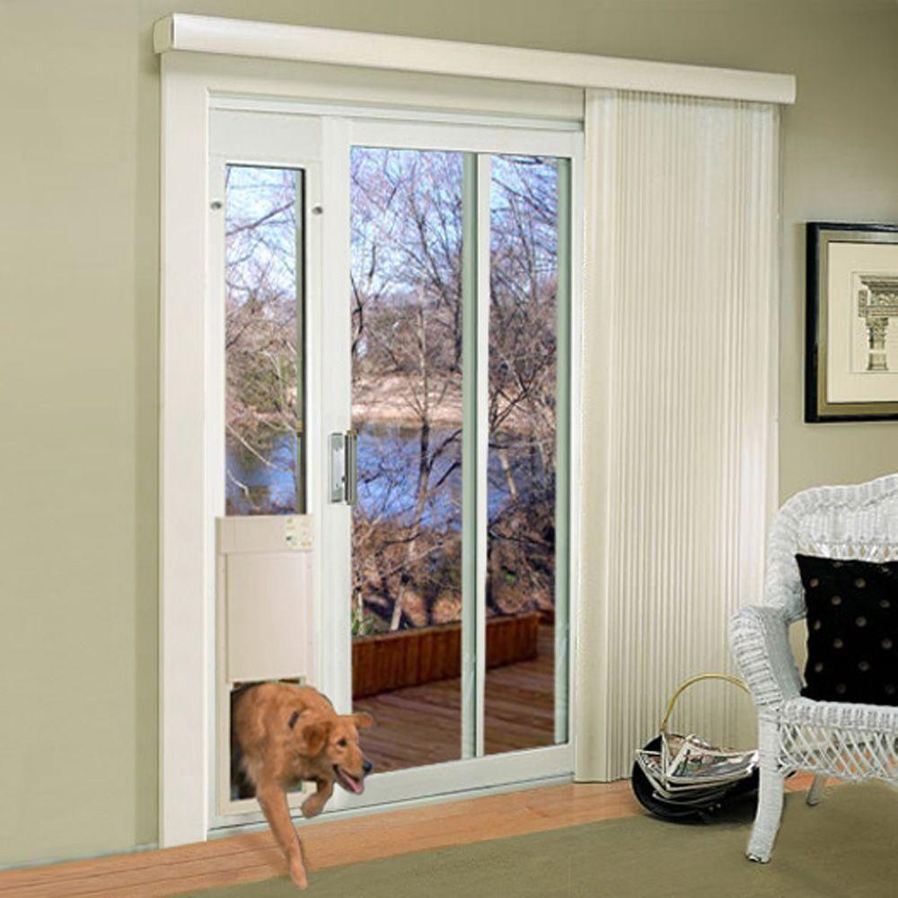 High Tech Pet 12 In X 16 In Electronic Pet Patio Door For