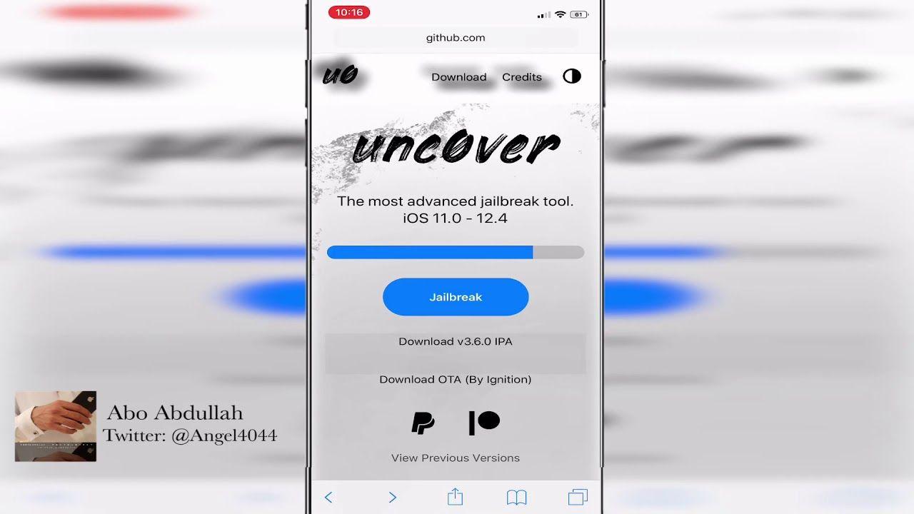 طريقة تحديث تطبيق انكفر Unc0ver Youtube Ios 11 Power Iphone