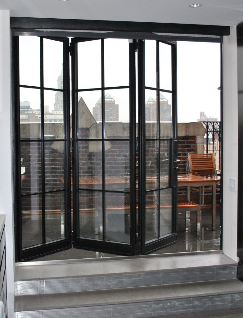 Advantages of Installing Folding Doors Steel Windows and Doors