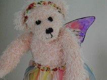 Teddy-Elfe rosa