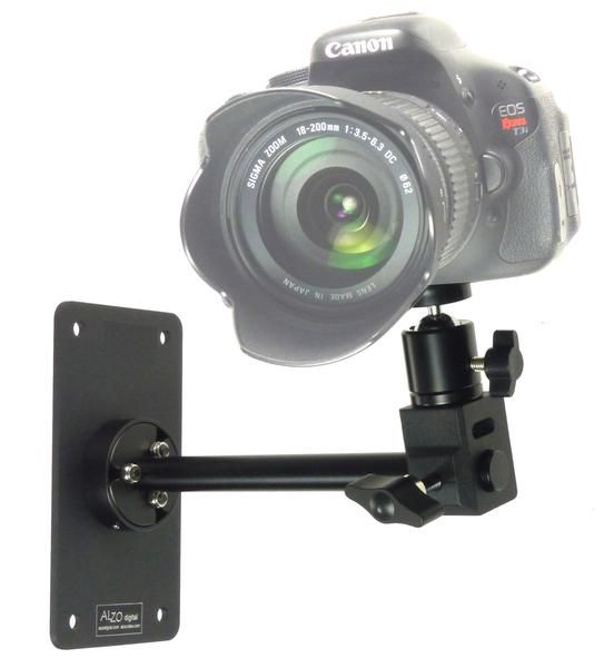Wall Camera Mount With Ball Head Digital Wall Mounting Camera